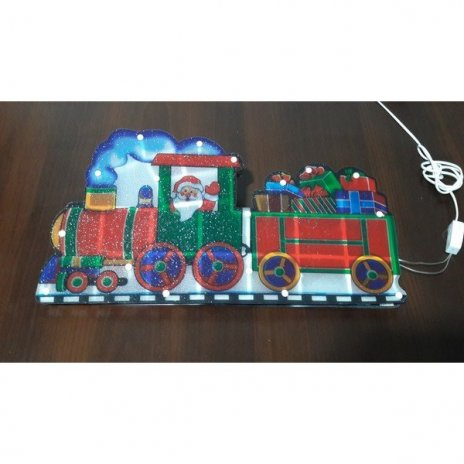 vianocna-multikolor-led-dekoracia-santa-a-vlacikom-45-x-24-cm