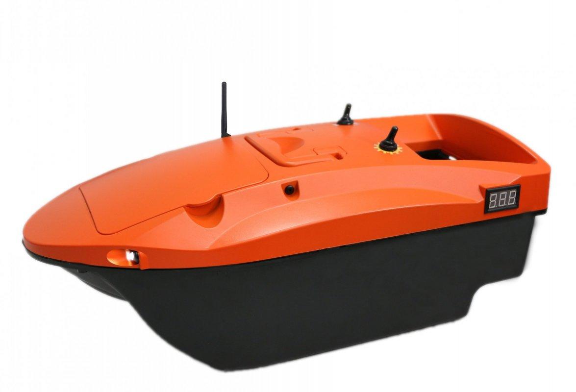 Zakrmovací loď DEVICT Tanker Mono oranžová