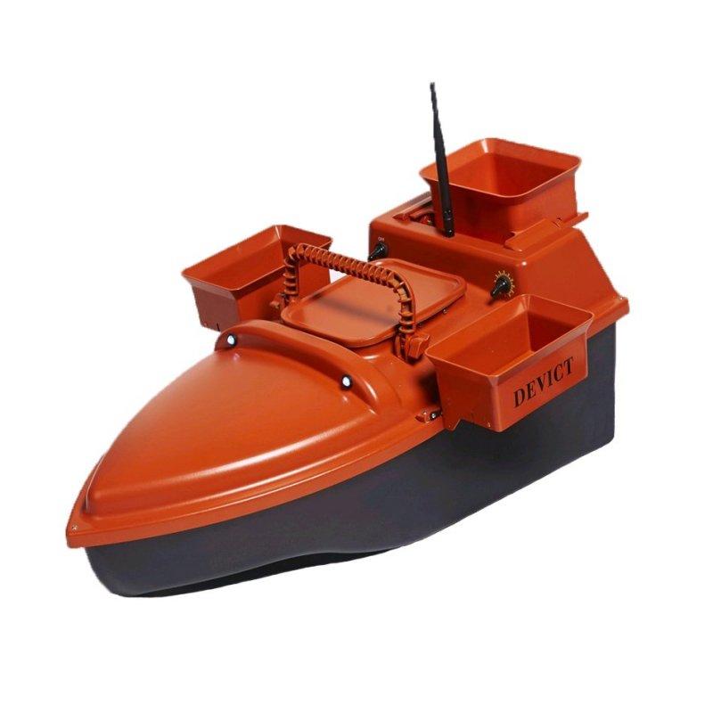 Zavážecí loďka DEVICT Tanker Triple oranžová