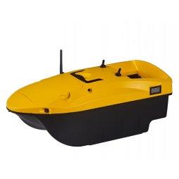 Zakrmovací loď DEVICT Tanker Mono žlutá