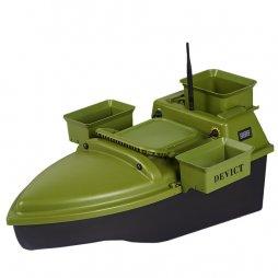 Zakrmovací loď DEVICT Tanker Triple zelená