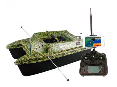 """Zavážecí loďka DEVICT Catamaran Fishing robot - """"pro obrovský zájem vyprodáno, zboží je na cestě"""""""