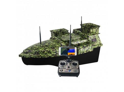 Zavážecí loďka DEVICT Tanker Triple Fishing Robot