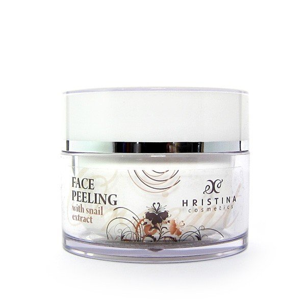 Naturalny peeling do twarzy z wyciągiem ze ślimaka 100 ml