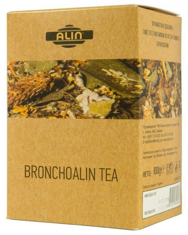 Čaj bronchoalin 100 gr
