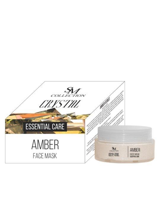 Přírodní esenciální obličejová maska jantar 100 ml