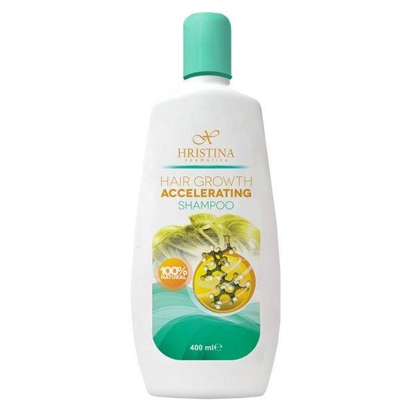 Prírodný šampón na podporu rastu vlasov 400 ml