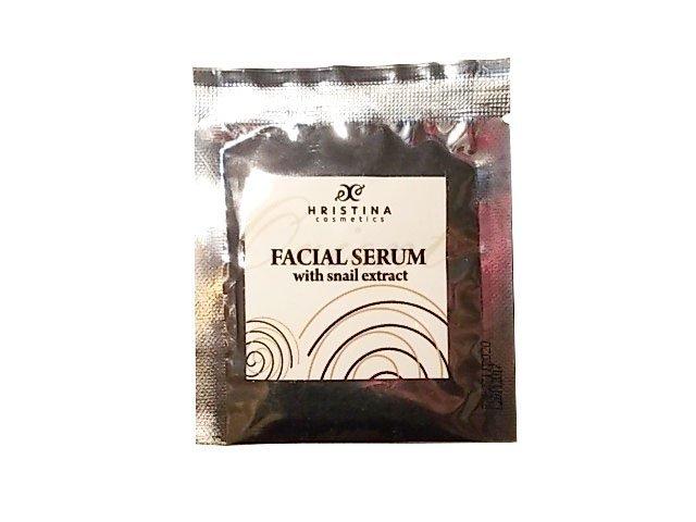 Naturalne wygładzające serum z wyciągiem ze ślimaka do twarzy 5 ml