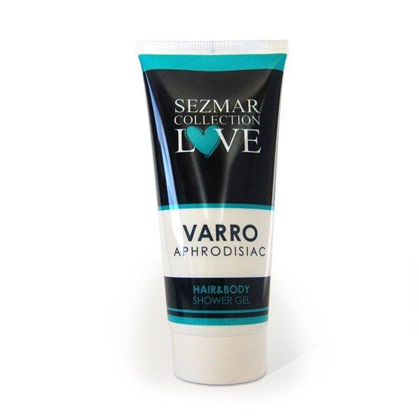 Přírodní sprchový gel na vlasy a tělo s afrodisiaky varro 200 ml