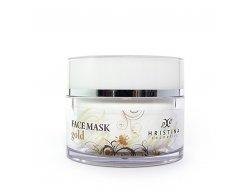 Přírodní obličejová maska se zlatem 100 ml