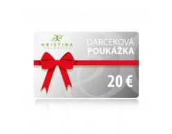 Elektronická darčeková poukážka 20 €