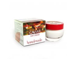 Natürliche handgemachte tagescreme mit kaviar 50 ml