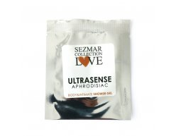Naturalny żel pod prysznic do ciała oraz miejsc intymnych z afrodyzjakami ultrasense 5 ml