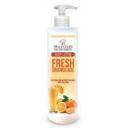 Prírodné telové mlieko čerstvá oranžáda 250 ml