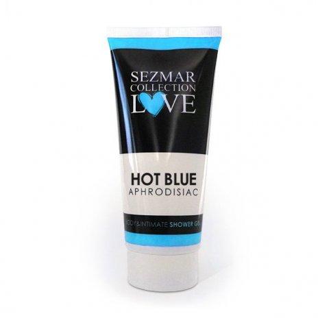 Natürliches Intim Duschgel mit Aphrodisiaka hot blue 200 ml