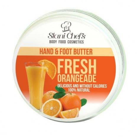Natürliche Hand- und Fußcreme frische Orangeade 100 ml