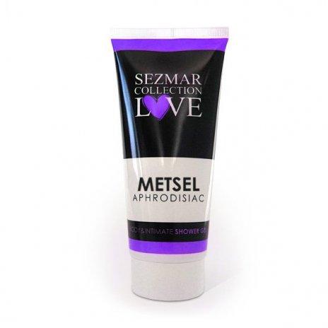 Naturalny żel pod prysznic do ciała i miejsc intymnych zafrodyzjakami metsel 200 ml