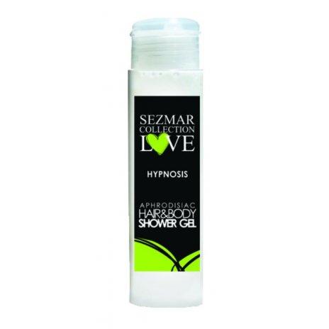Naturalny żel pod prysznic do ciała oraz miejsc intymnych z afrodyzjakami HYPNOSIS 50 ml