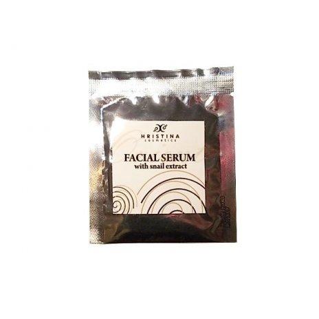 Přírodní zjemňující obličejové sérum s hlemýždím extraktem 5 ml