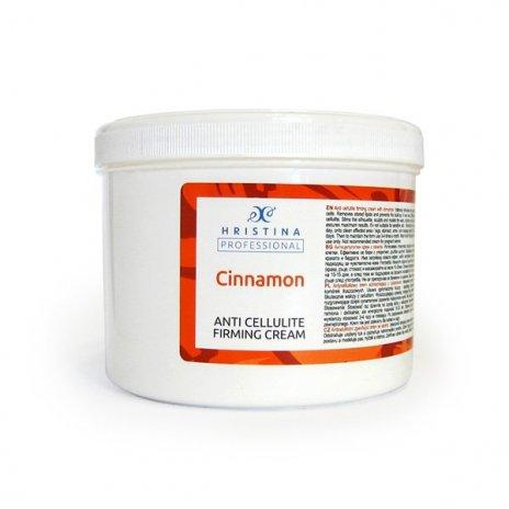 Natürliche Anti-Cellulite und Festigungscreme mit Zimt 500 ml