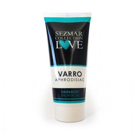 Natürliches Duschgel für Haare und Körper mit Aphrodisiaka varro 200 ml