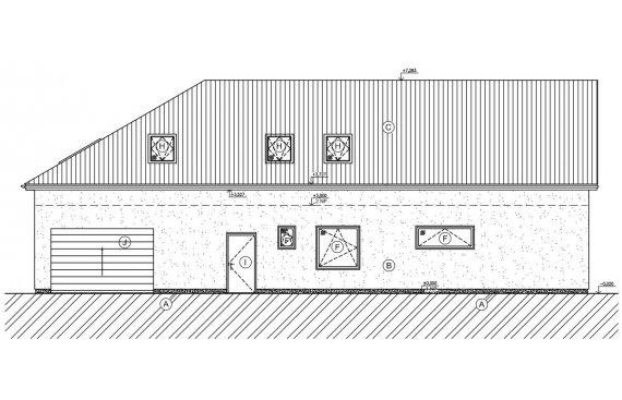Projekt pro stavební povolení - RD Všestary u Říčan