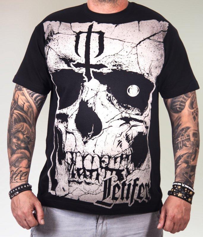 Pánské tričko Lebka