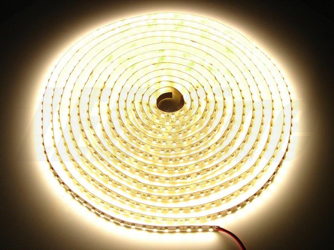 Led Line LED pásek 5 metrů 600smd3528 48W teplá