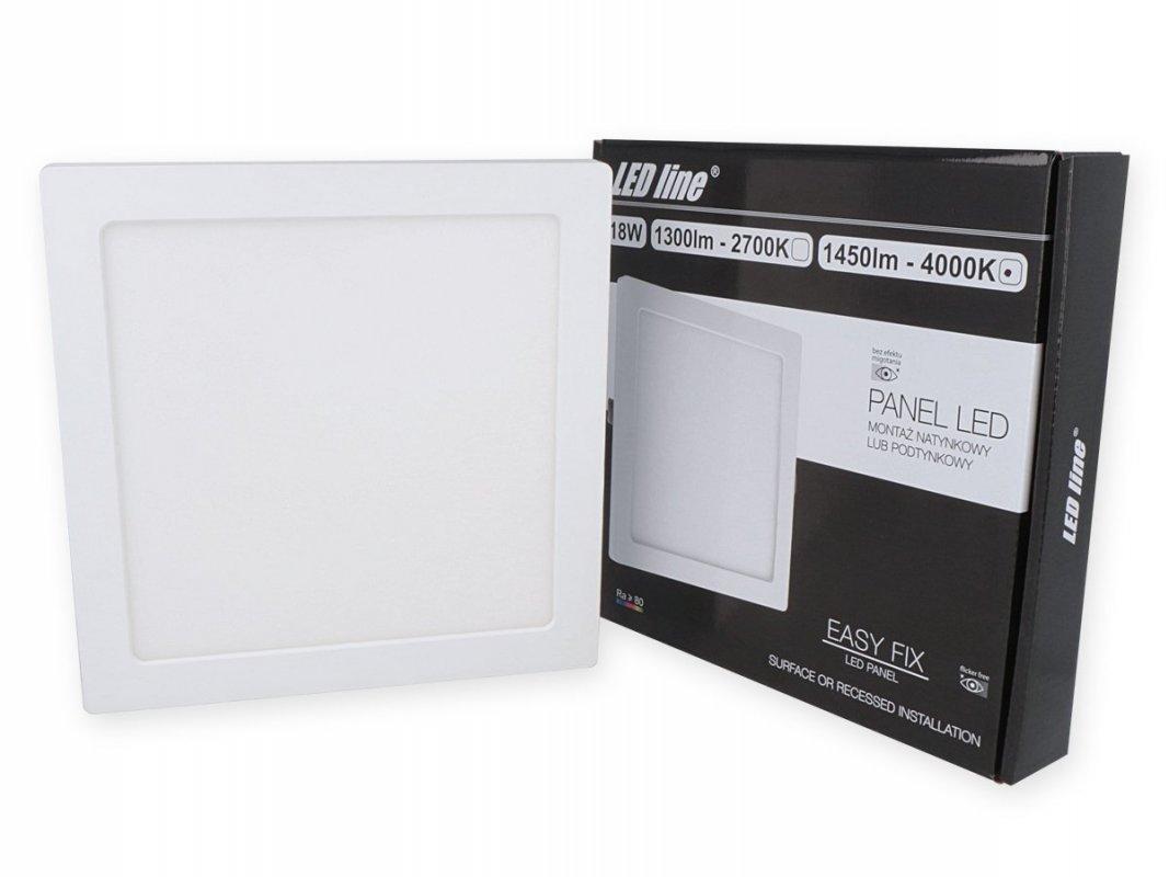 Led Line LED panel vestavný 18W 1450lm denní