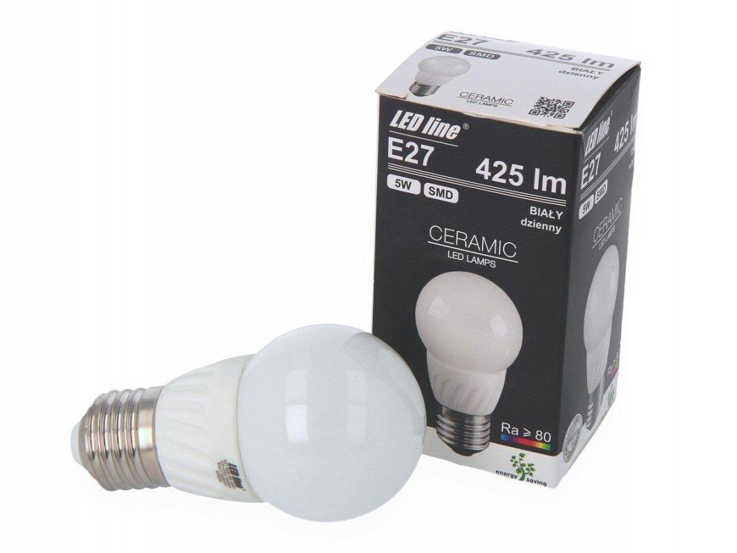 Led Line LED žárovka E27 5W 425lm denní (40W)