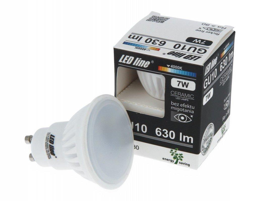 Led Line LED žárovka GU10 7W 630lm denní (55W)