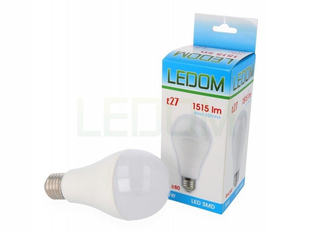 Ledom LED SMD žárovka E27 15W 1515lm neutrální (50W)