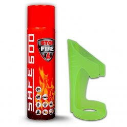 Komplet hasicí sprej SAFE 500 spolu s držákem SAFE 50F za jednotnou výhodnou cenu!