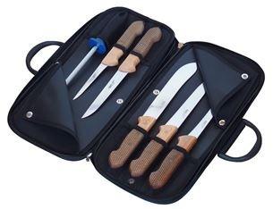 KDS Sada nožů kabela s řeznickými noži dřevo buk
