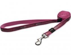 Vodítko Fancy Dress Pink Bone 1,6x180cm