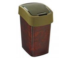 FLIPBIN 25L odpadkový koš - LEATHER