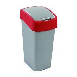 FLIPBIN 50L odpadkový koš - červený