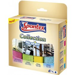 Spontex Mikroutěrky Collection 4 ks