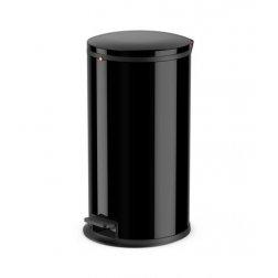Hailo nášlapný koš 25L černý lak