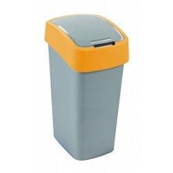 FLIPBIN 50L odpadkový koš - žlutý