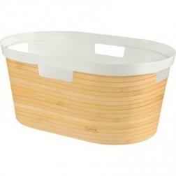 koš na špinavé prádlo INFINITY 39L bambus