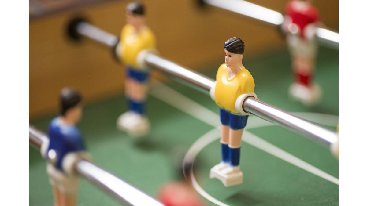 Spoznajte pravidlá stolného futbalu!