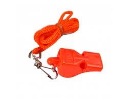 MAYDAY - Píšťaľka plastová oranžová