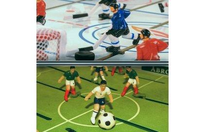 Stiga hokej a futbal