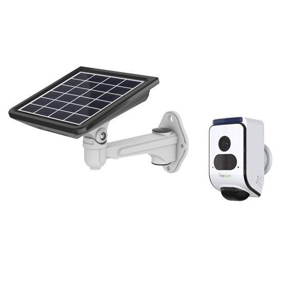 100% Solárna bezpečnostná kamera s alarmom Secutek SLL-C390S