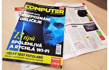 Recenze našeho produktu v časopise Computer