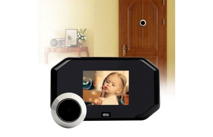 Ako vybrať digitálne dverové kukátko s kamerou