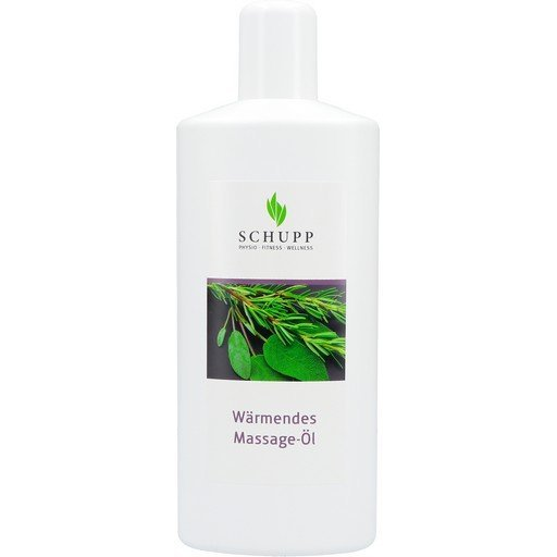 Hřejivý masážní olej, 1000 ml