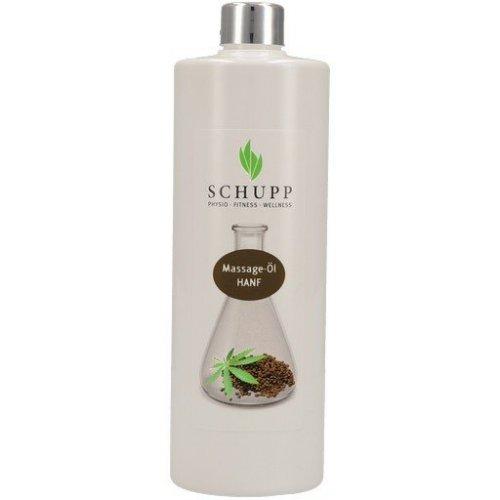 Masážny olej Konope - 500 ml + dávkovač
