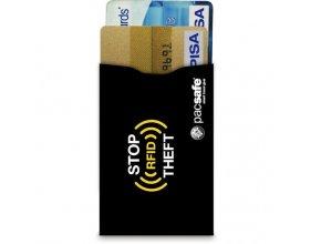 peněženka RFIDSLEEVE 25 (2 PACK) black